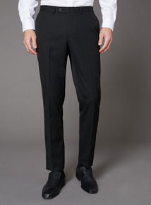 Black Slim-Fit Trousers