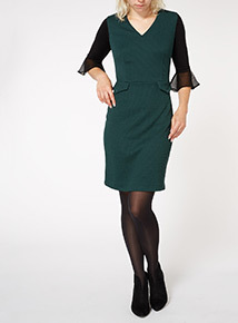 Green Pointe Dress