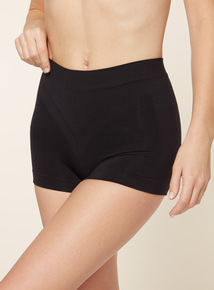 Two Pack Black Seamfree Shorts