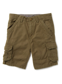 Green Cargo Shorts (3-14 years)