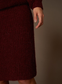 Premium Wrap Knit Skirt