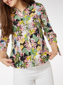 Multicoloured Floral Printed Shirt