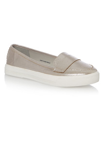 Chunky Sole Comfort Loafers