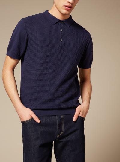 Premium Navy Polo Shirt