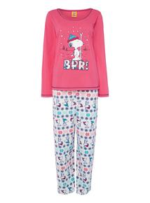 Pink Snoopy Pyjamas