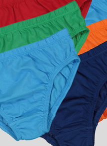 Multicoloured Bright Briefs 10 Pack (2-12 years)