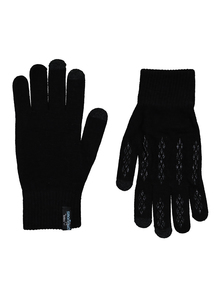 Toasties By Totes Black Touchscreen Gloves