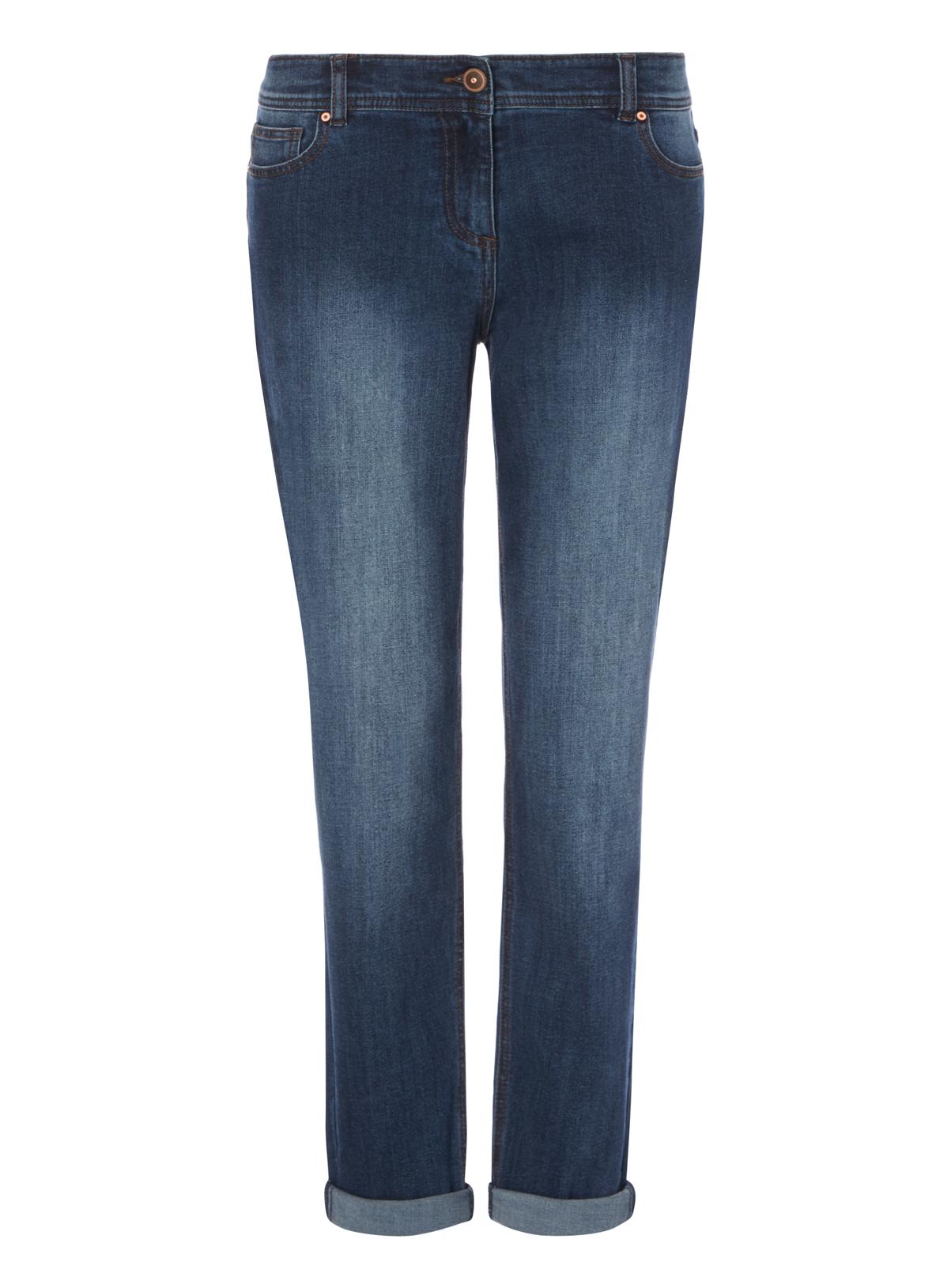 Womens Dark Denim Boyfriend Jeans | Tu clothing