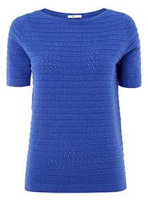 Ripple Stitch Knit Top