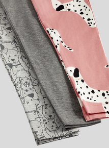 Puppy Print Leggings 3 Pack (9 months-6 years)
