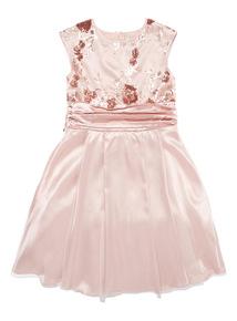 Pink Bridesmaid Dress (1-14 years)