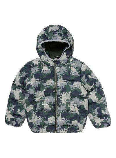 Khaki Dinosaur Puffa Jacket (9 months - 6 years)
