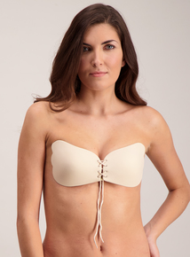 Online Exclusive Nude Black Secret Push Up Lace Bra