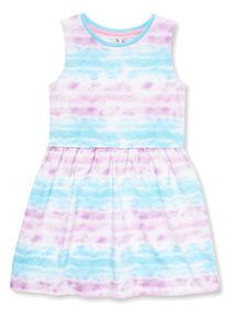 Multicoloured Mermaid Dress (9 months-6 years)