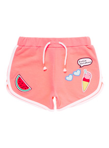 Pink Badge Shorts (9 months - 6 years)