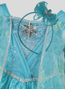 Blue Disney Frozen Elsa Costume (1-10 years)