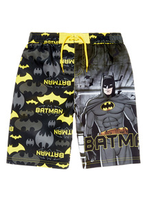 Multicoloured Batman Swim Shorts (1 - 8 years)