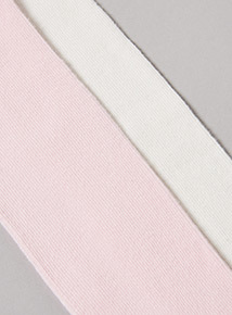 3 Pack Cream and Pink Tights (Newborn -24 months)