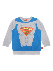 Multicoloured Superman Padded Sweatshirt (9 months-6 years)