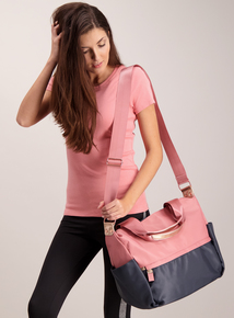 Pink & Black Active Bag