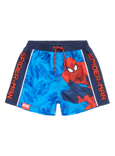 0bc64db30bd16 Kids Boys Blue Spiderman Swim Shorts (1-10 years) | Tu clothing