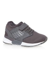 Boys Grey Sports Trainers