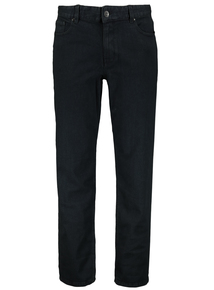 Indigo Wash Straight Denim Jeans