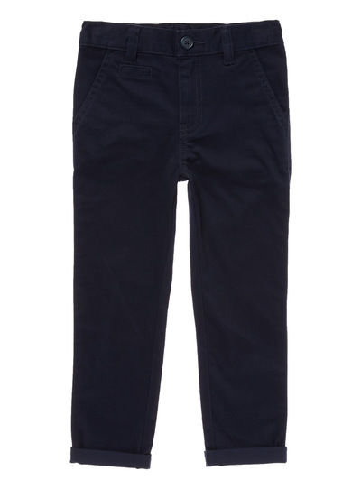 Navy Buttoned Chinos (3-12 years)