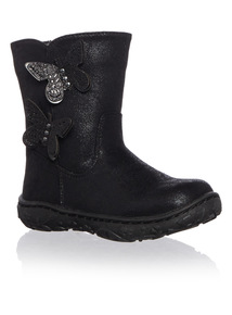 Girls Butterfly Boots