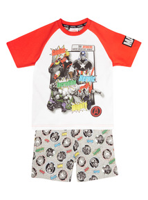 Multicoloured Disney Marvel Avengers PJ Set (3 - 12 years)