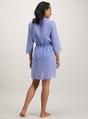 88b6cbc06c Womens Cornflower Blue Heart Print Sheer Beach Cover-Up | Tu clothing