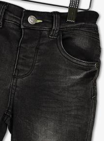 Grey Distressed Denim Jeans (1 - 6 Years)
