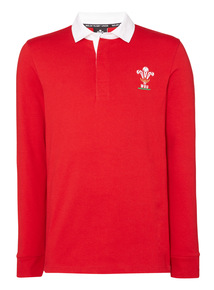 Red Wales Rugby Top