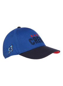 Blue Race Crew Cap