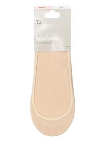 Nude Footsie Socks 3 Pack