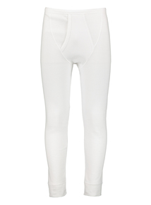 White Long Thermal Pants