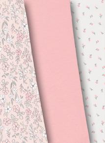 Floral Cotton Rich Leggings 2 Pack (0-24 Months)