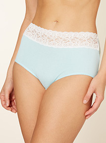 5 Pack Lace Full Briefs
