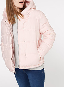 Online Exclusive Cropped Padded Jacket