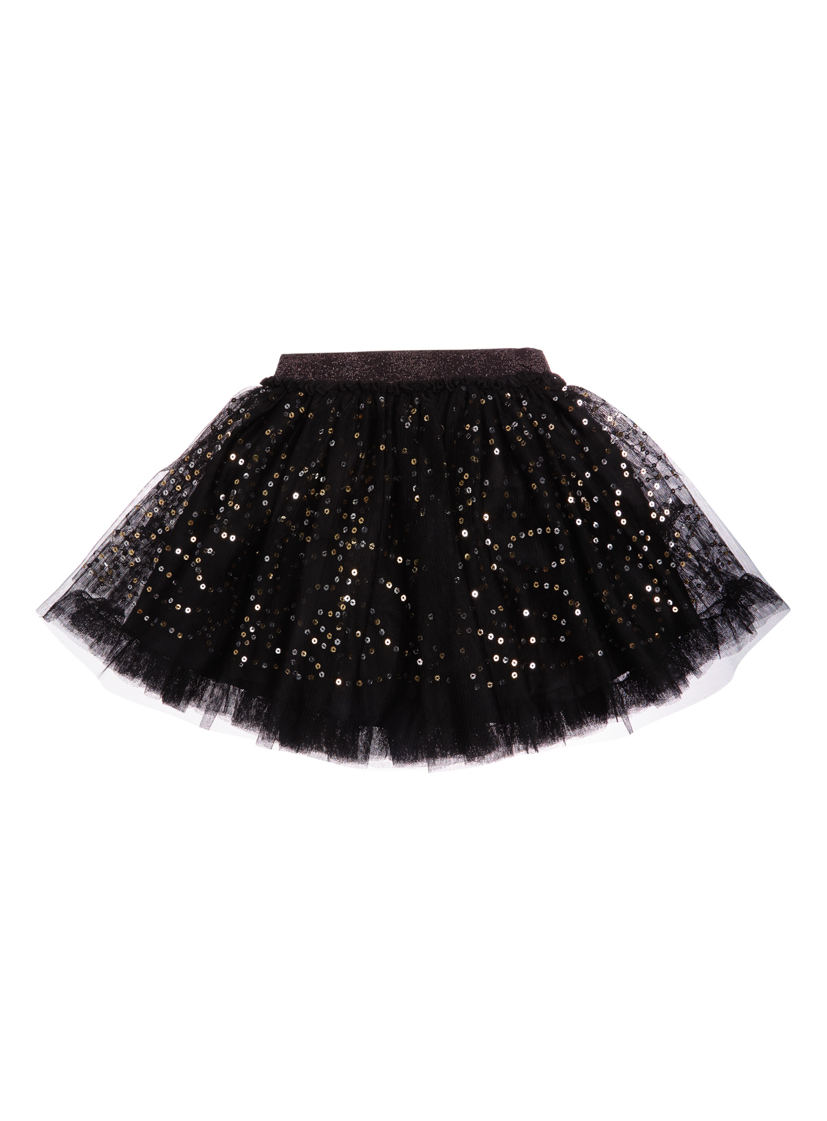 All Girl's Clothing Girls Black Net Sequin Skirt (3-12 years) | Tu ...