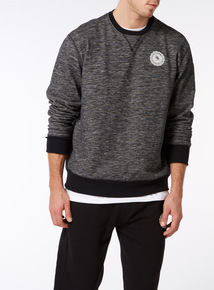 Online Exclusive Russell Athletic Black Crew Jumper