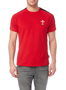 Red Welsh Rugby Union T-shirt