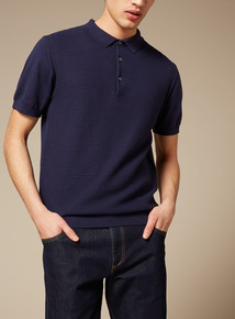 Premium Navy Polo Shirt