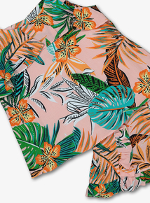 f384a0f4bc Multicoloured Tropical Floral Top & Short Set (3-14 years)
