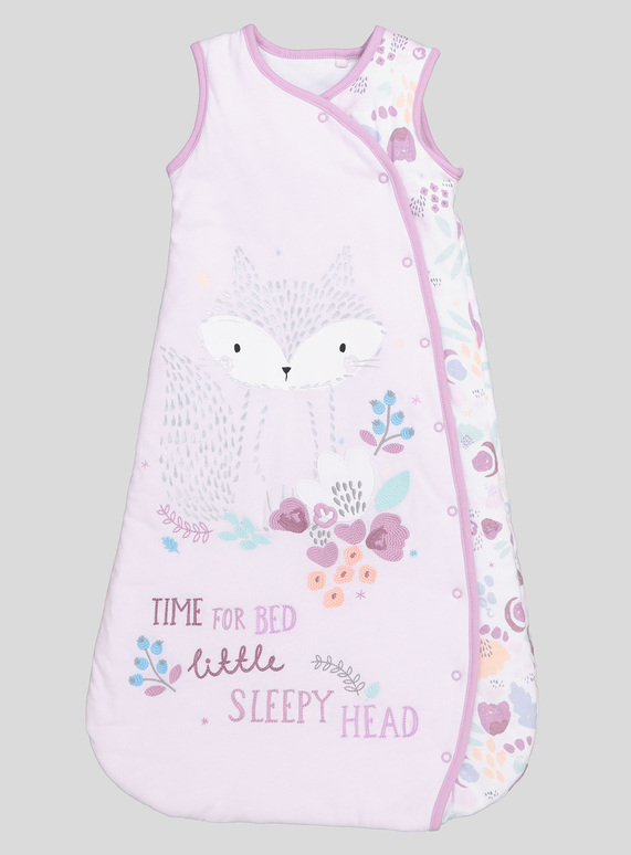 meet e80c7 4bbc2 SKU: PH1 GIRLS FOX SLEEPING BAG:Purple