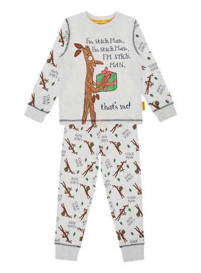 64f0294d21 Kids Boys Christmas The Gruffalo Stick Man Pyjama