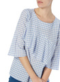 Thumbnail of SKU GINGHAM FRILL TOP:Blue