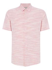Pink Stripe Linen Shirt