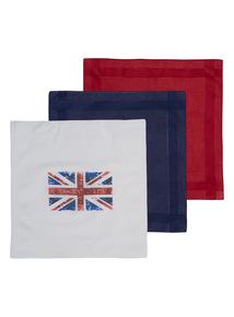 Union Jack Hankies 3 Pack