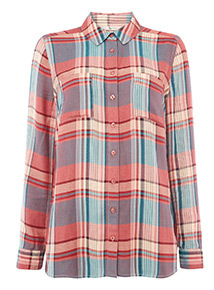 Multicoloured Check Shirt